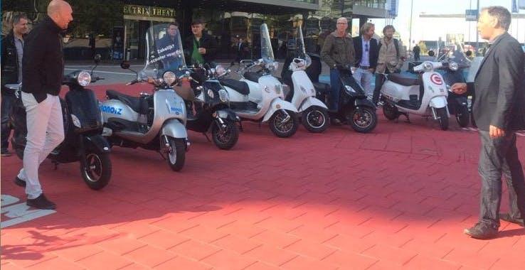 125 Utrechtse bedrijven stappen over op e-scooter
