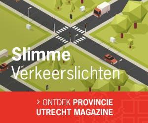 Slimme verkeerslichten in Provincie Utrecht