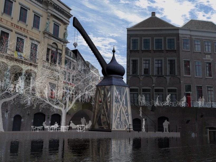 Stadskraan niet mogelijk op historische locatie; alternatieve plekken gezocht