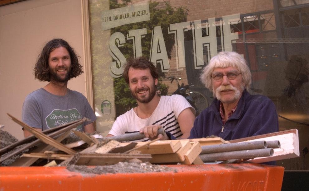 """Eigenaren 'De Voortuin' beginnen café Stathe: """"Café Flitz was achterhaald"""""""