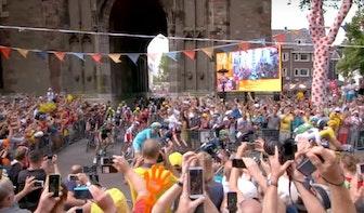 Voorpublicatie uit Utrecht en de Tour: eindelijk zoenen met een Fransman