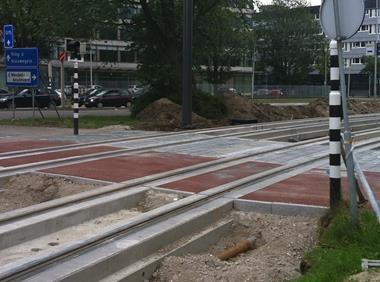 Trams rijden woensdag weer, maar nog niet voor passagiers