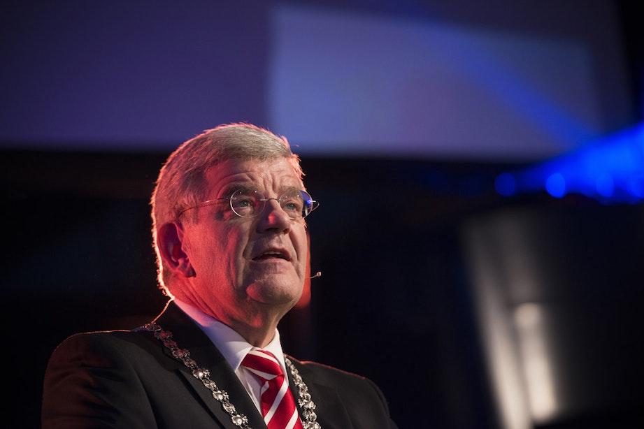 """Nieuwjaarsspeech burgemeester Jan van Zanen: """"Utrecht zijn we samen"""""""
