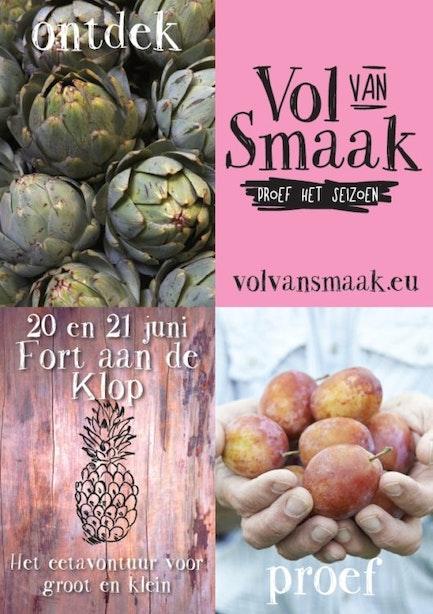 20&21 juni Vol van Smaak – start van de zomer – Fort aan de Klop Utrecht – Gratis toegang