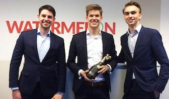 Utrechtse start-up Watermelon is beste jonge ondernemer van het jaar