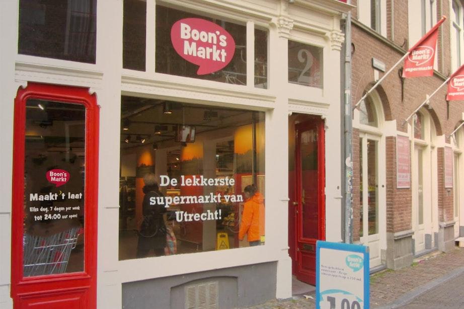 Boon's Markt Utrecht, als enige supermarkt in Utrecht elke dag tot 24:00 uur open!