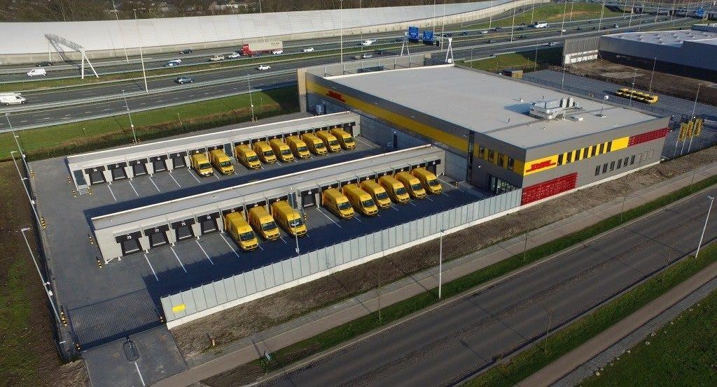 Negen miljoen euro kostend Service Center DHL Utrecht in gebruik genomen
