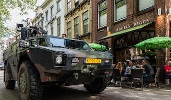 Foto's: de Landmachtdag op Mariaplaats