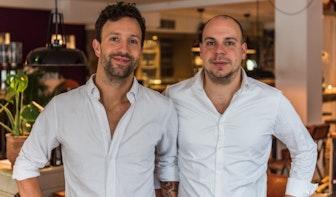 Broers David en Dimitri van 'Aandacht voor eten' openen tweede restaurant in Biltstraat