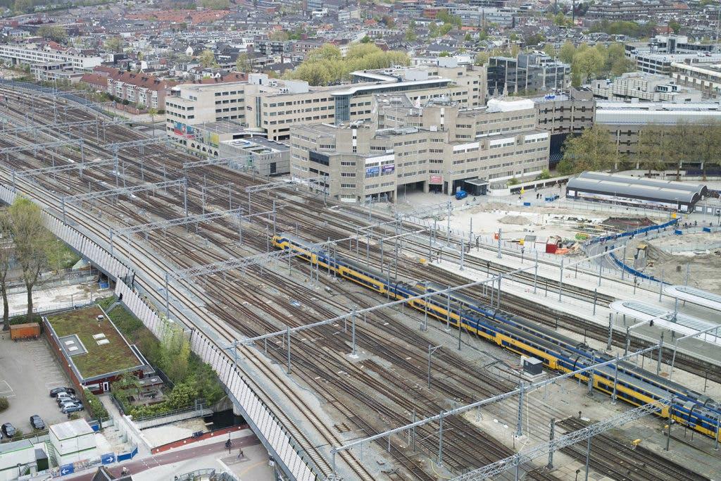 Wedstrijd treinreizen op station Utrecht Centraal