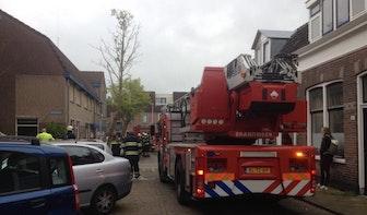 Woningbrand in Bloemstraat