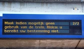 ProRail roept reizigers op Utrecht Centraal te mijden