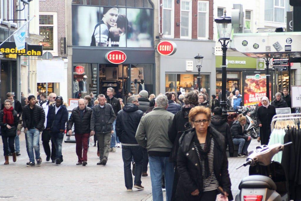 Utrecht op zeven na beste winkelstad van de Benelux