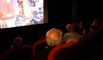 Utrechts kleinste bioscoopzaaltje geopend in Louis Hartlooper Complex