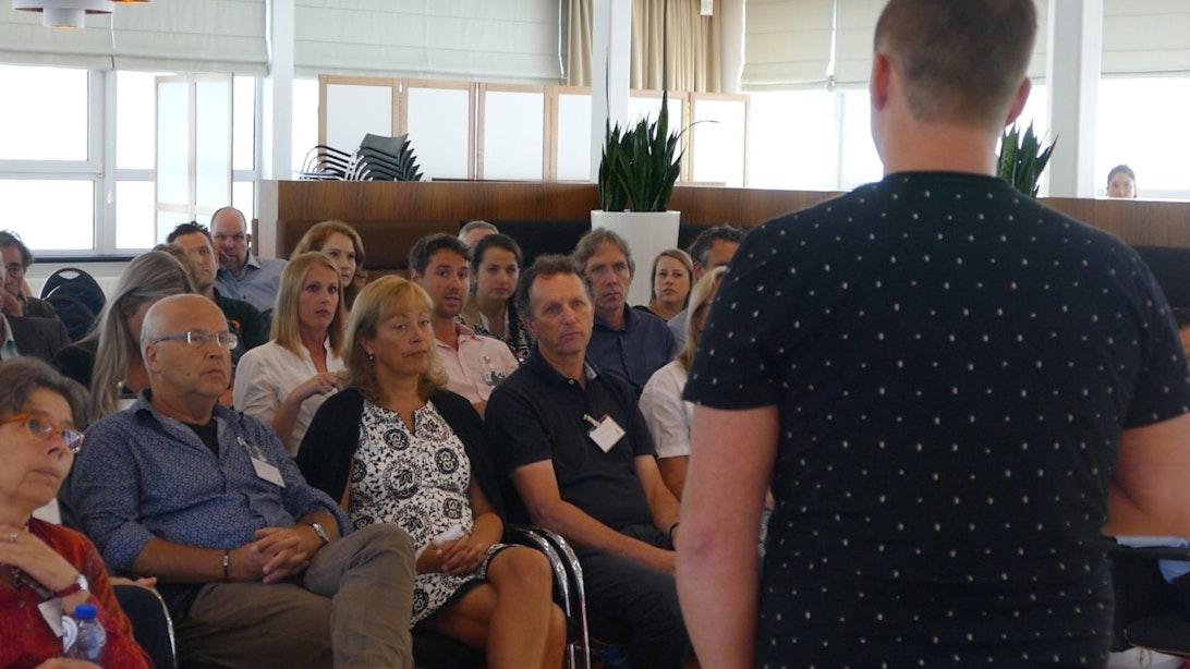 DUIC TV: Netwerken en workshoppen voor ZZP'ers en MKB'ers bij Uplift'16