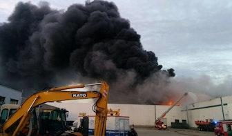 Brand De Meern vannacht opnieuw opgelaaid, oorzaak nog onbekend