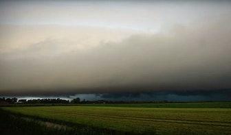 Timelapse: Donderwolken trekken over Utrecht