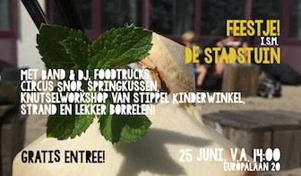 Bier en Appelsap viert aankomend weekend feestje in De Stadstuin