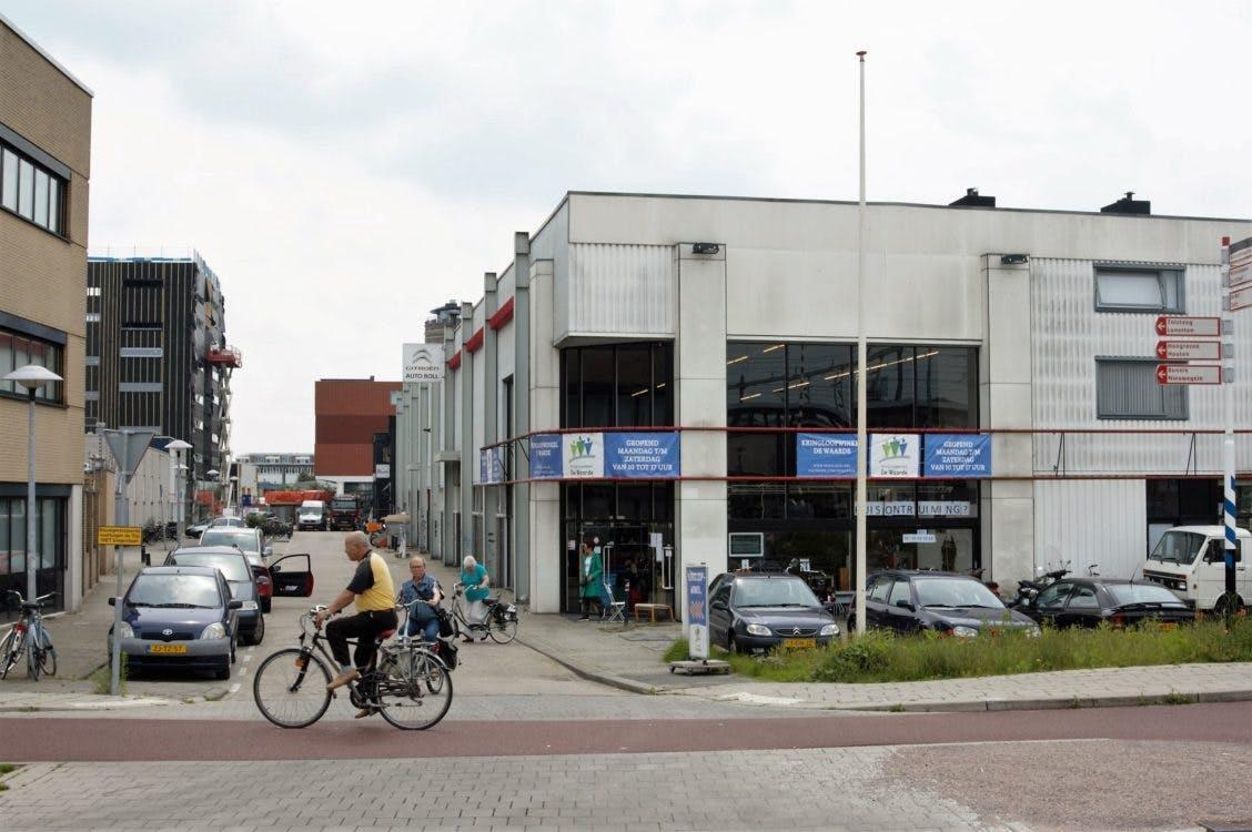 Designhotel met 160 kamers naast station Vaartsche Rijn