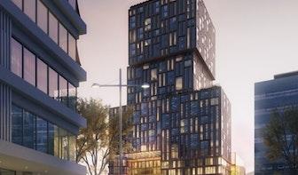 Nu al te weinig parkeerplaatsen voor nog te bouwen Hotel Amrâth Jaarbeursplein