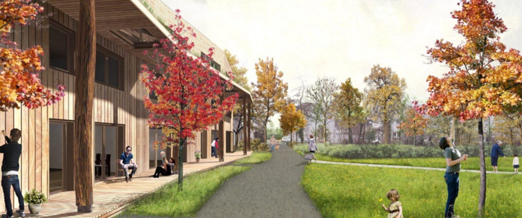 Bewoners hebben gekozen: sportveld Van Lieflandlaan wordt park met woningen