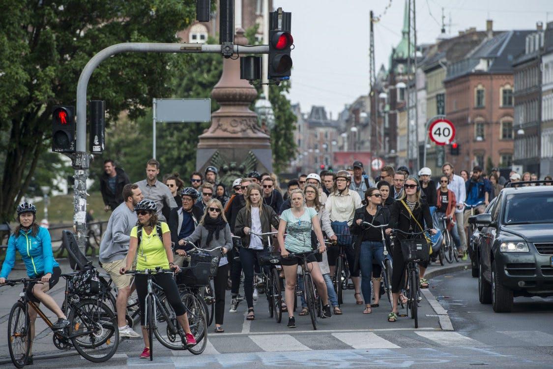 """DUIC op bezoek in wereldfietsstad Kopenhagen: """"Utrecht doet het goed, maar meer ook niet"""""""