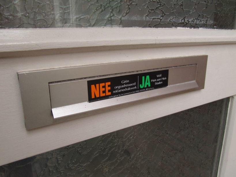 Utrecht doet onderzoek naar invoering Ja-Ja sticker