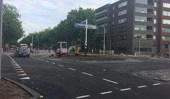 't Goylaan weer open voor auto's na wekenlange verkeershinder