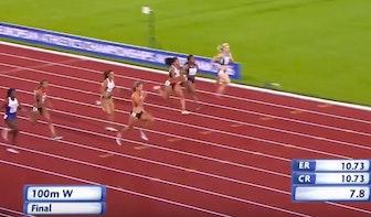 Dafne Schippers wint goud op EK atletiek
