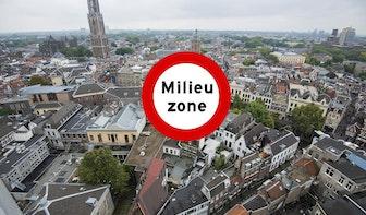 79 procent minder oude dieselauto's in Utrecht