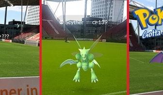 Pokémon jagen tijdens wedstrijd FC Utrecht