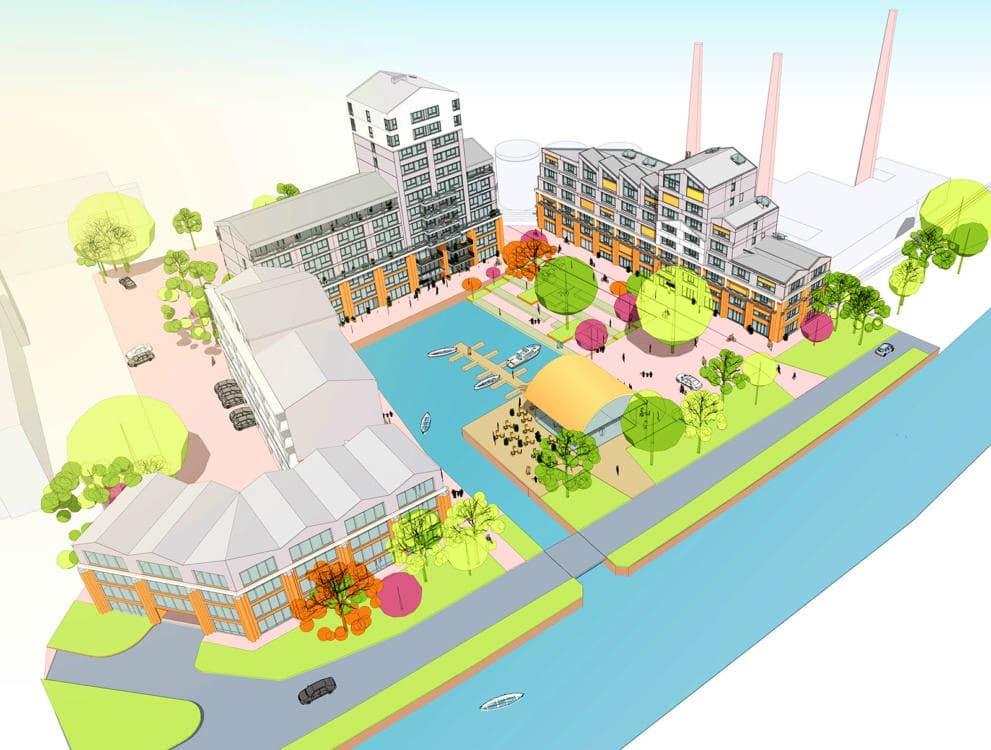 Merwedekanaal krijgt nieuwe binnenhaven en woonwijk