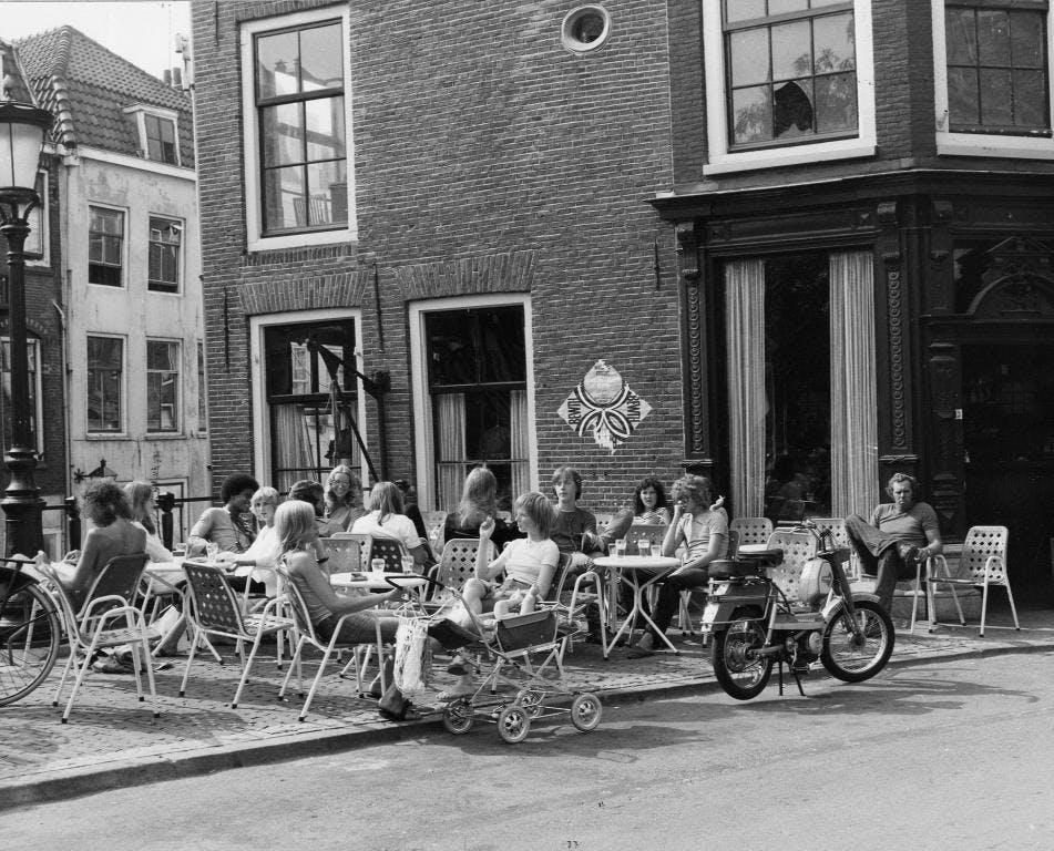 Foto's: de warme zomer van 1975 in Utrecht