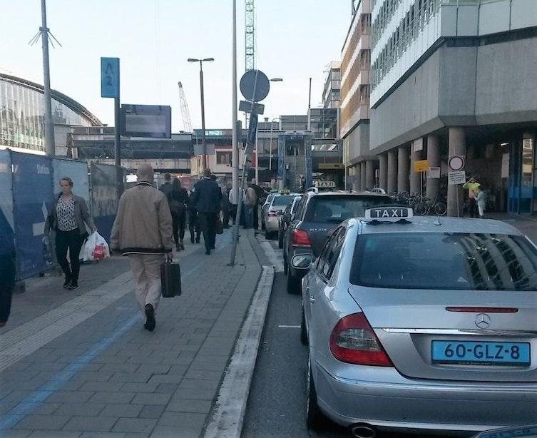Van 550 naar 350 taxi's in Utrecht