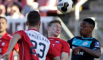 PSV had alle geluk van de wereld