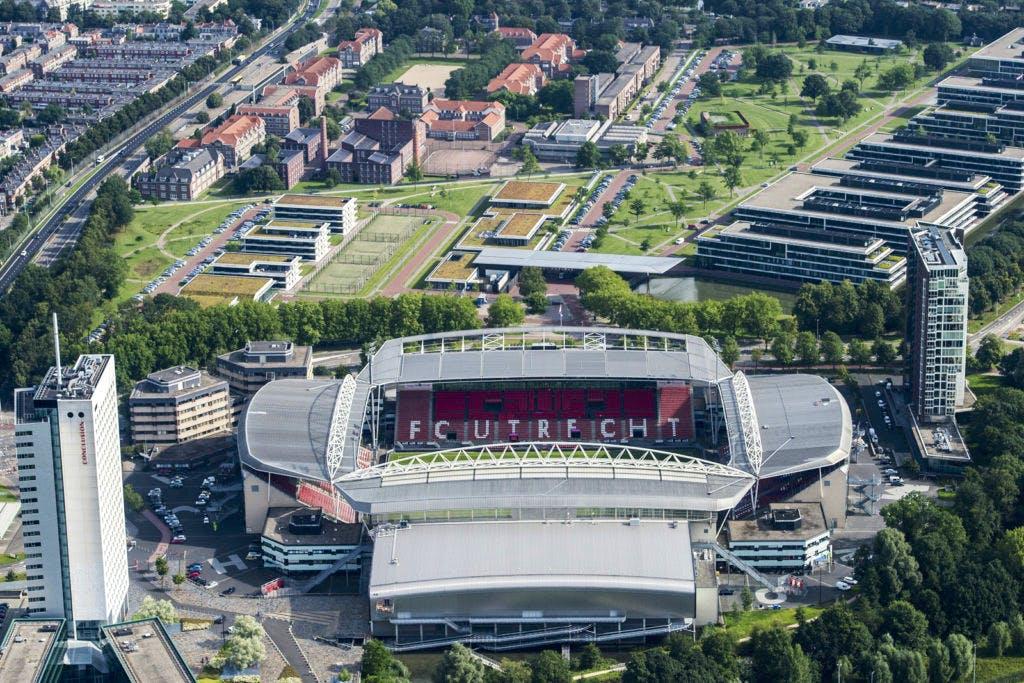 Wedstrijd FC Utrecht afgelast vanwege extreem weer