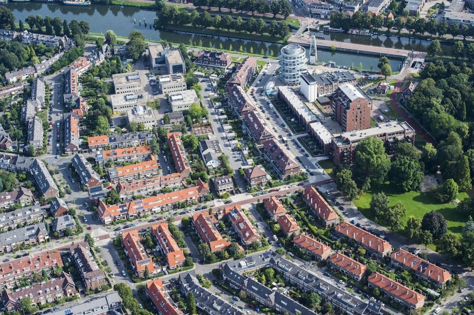 Foto's: Utrecht vanuit de lucht bekeken