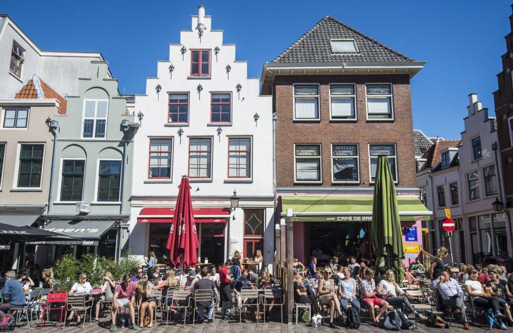 Terrassen in de Utrechtse binnenstad mogen langer openblijven