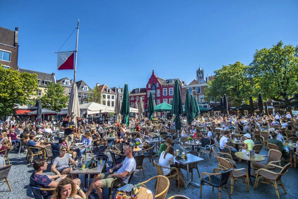 Horeca neemt in rap tempo toe in Utrechts straatbeeld