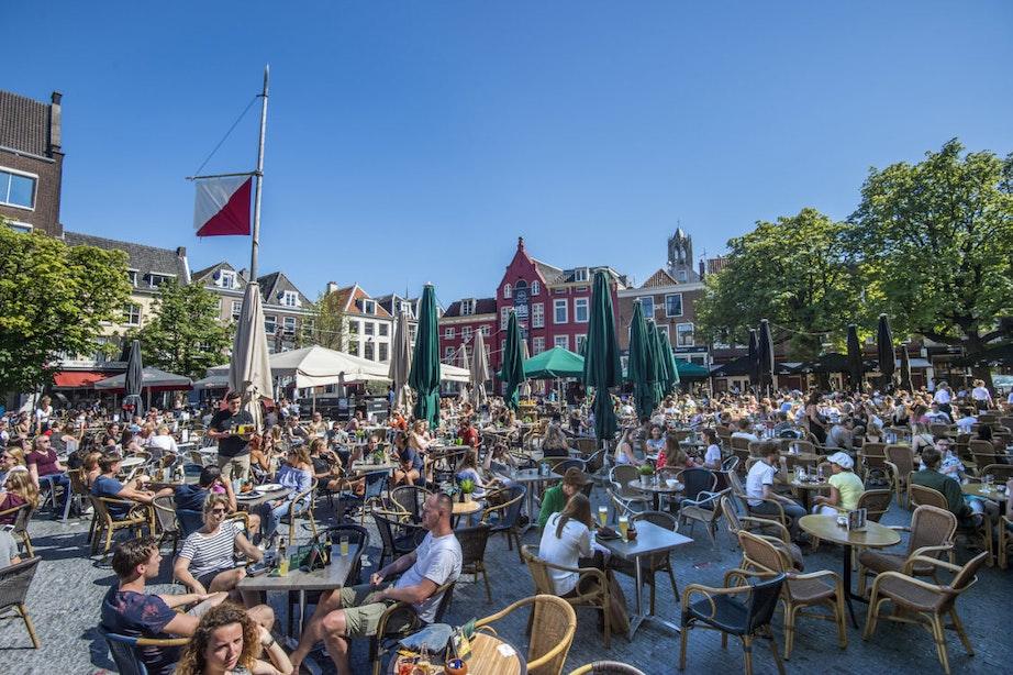 Rondje op het terras in Utrecht een stuk duurder
