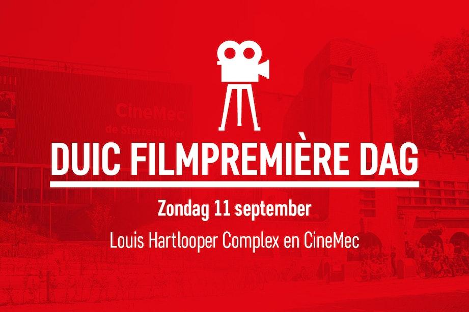 DUIC Filmpremière Dag 11 september: 5 topfilms voor maar 25 euro