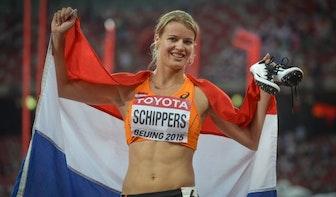 Geen medaille voor Dafne Schippers