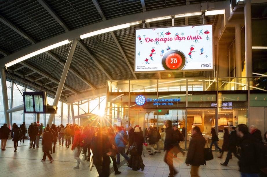 Foto's van willekeurige treinreizigers op Utrecht Centraal