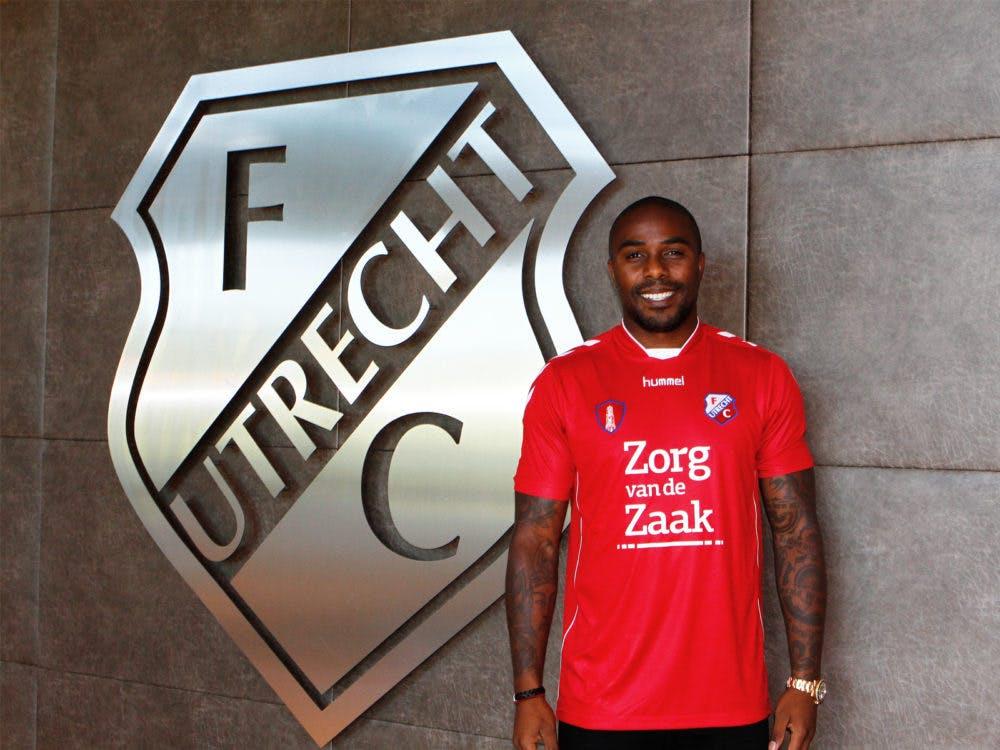 Edson Braafheid vertrekt bij FC Utrecht