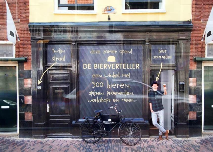 De Bierverteller in Twijnstraat opent op 25 augustus