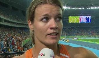 """Dafne Schippers pakt zilver: """"Dit is verschrikkelijk"""""""