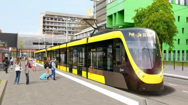 De tram naar de Uithof (deel 1)