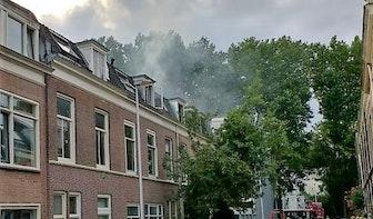 Brandje aan Wolter Heukelslaan in Oudwijk