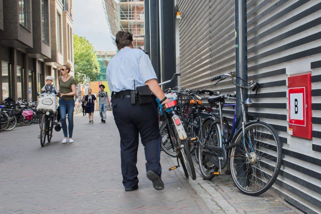 Kosten voor ophalen verwijderde fiets gaan omhoog