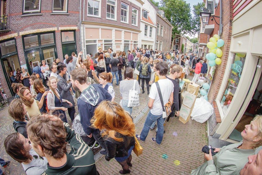Oudegracht Noord en Wittevrouwenstraat als inspiratie voor Hardebollenstraat